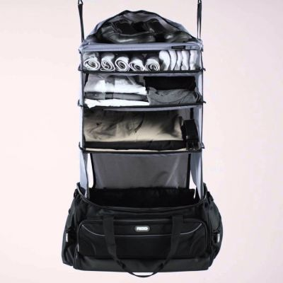 Idée cadeau femme - Sac de voyage weekend avec penderie intégrée