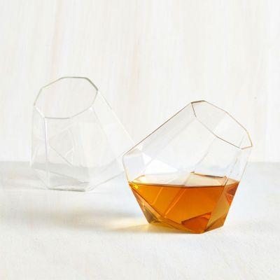 Cadeau Saint Valentin Homme - Verres à Whisky Diamant