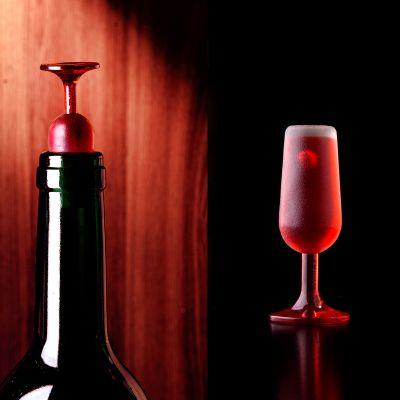 Accessoires de bar - Bouchon Verre de Vin – Lot de 2