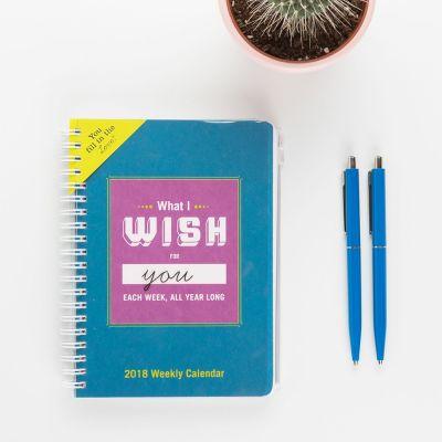 Cadeau romantique - Agenda What I Wish For You Each Week