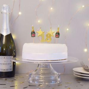 Bougies d'anniversaire pour les 18, 21 ou 30 ans
