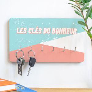 Porte-clés personnalisable avec texte