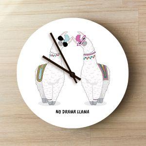 Horloge Personnalisable Lama