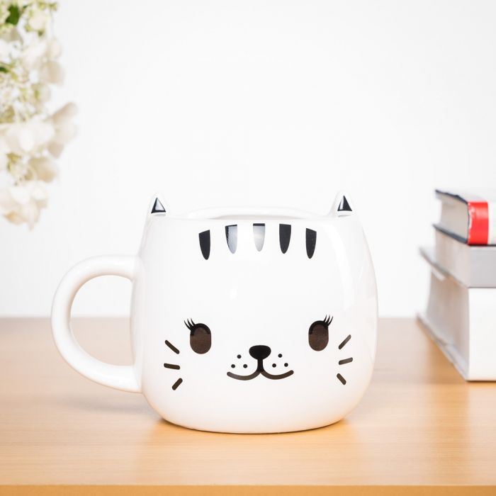 Tasse Chat thermosensible