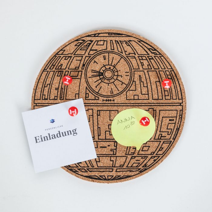 Pinboard Star Wars Death Star