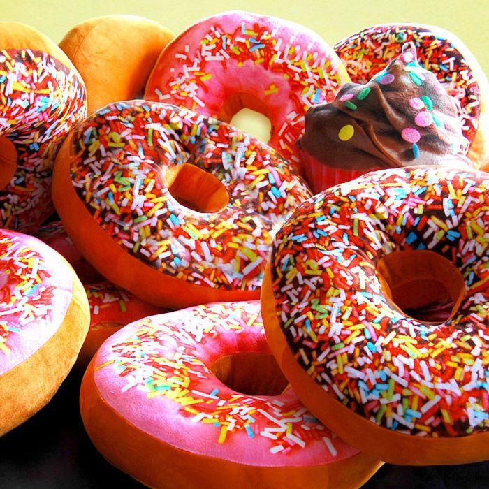 Coussin en forme de donuts ™