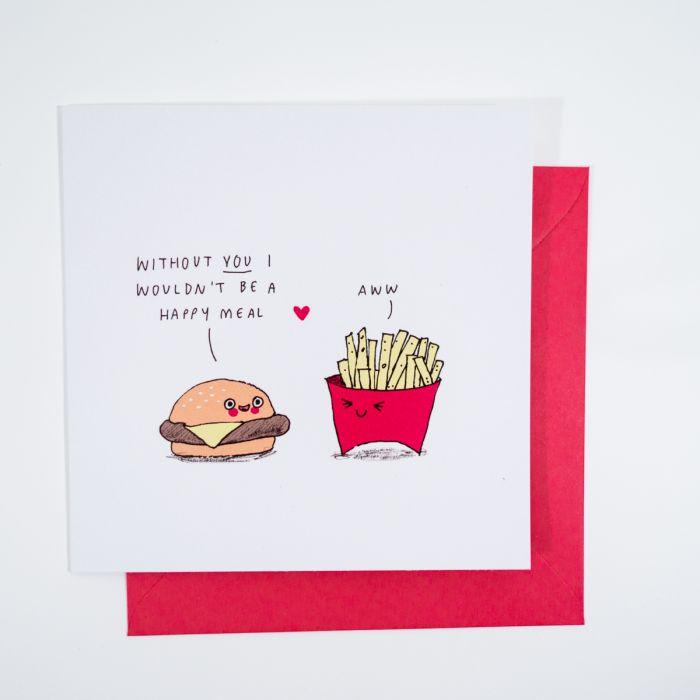 Carte de vœux Happy Meal