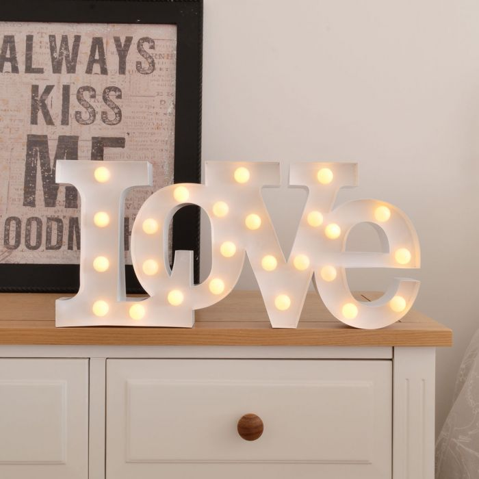 Lampe LED – Love
