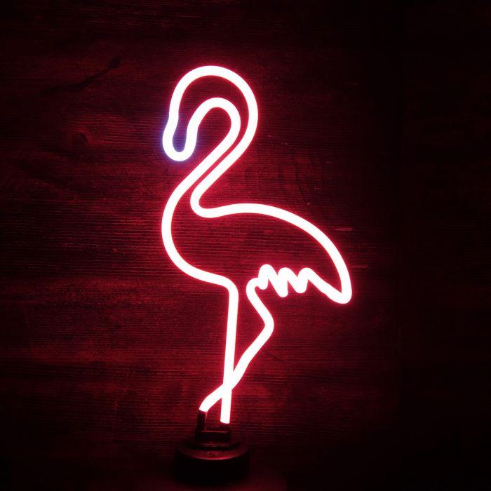 Lampe Neon Flamant