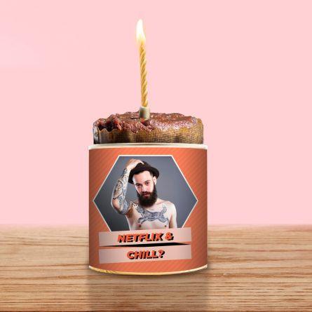Cancake avec Photo et Texte