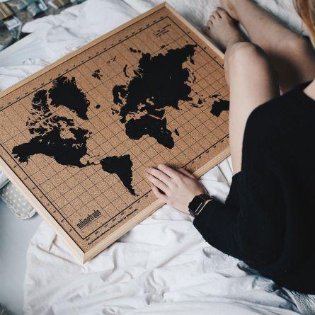 Pinboard Carte du Monde