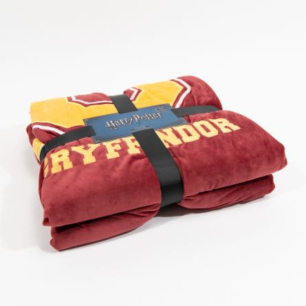 Couverture Gryffondor Harry Potter