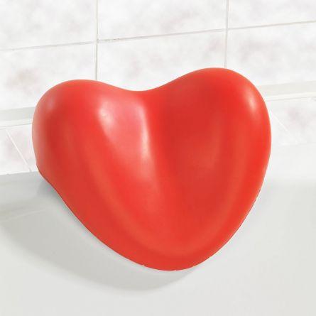 Oreiller coeur pour le bain