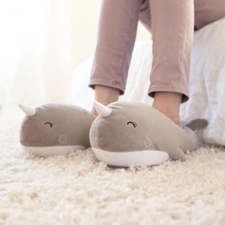 Pantoufles chauffantes narval – USB