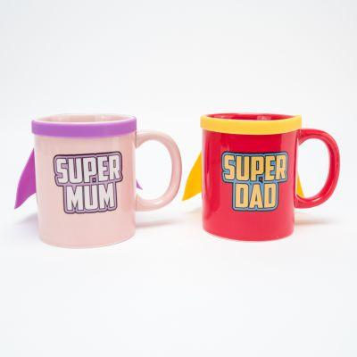 Tasse Super Mum & Super Dad