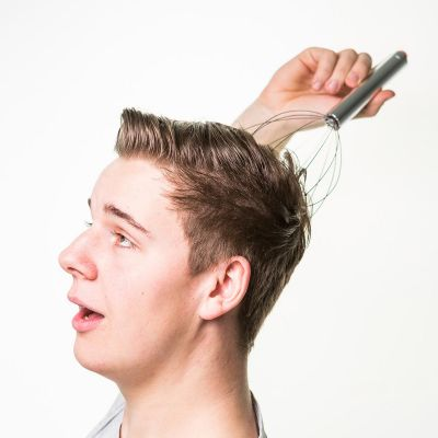 Masseur de tête à vibrations