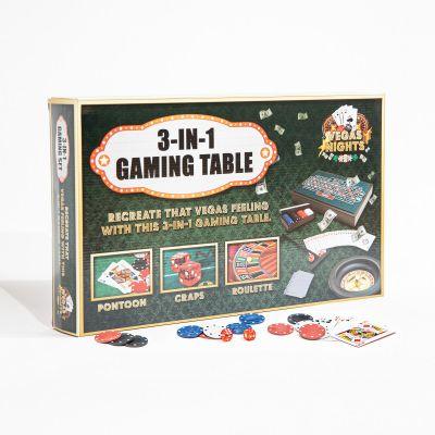 Maison et habitat - Table de Jeux Vegas Nights 3 en 1
