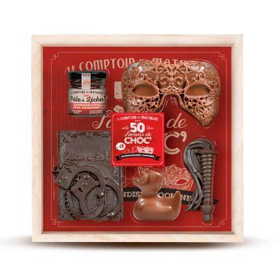 Cadeau fou - Coffret 50 Nuances de Chocolat