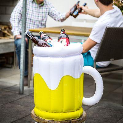 Accessoires de plage - Seau à bière gonflable