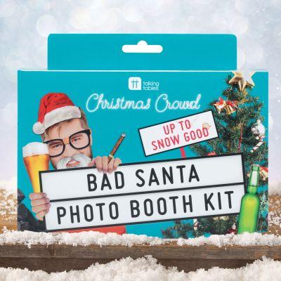 Cadeaux de Noël pour copain - Kit-Photo Bad Santa pour Noël