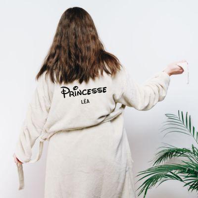 Petits cadeaux pas cher - Peignoir princesse personnalisable