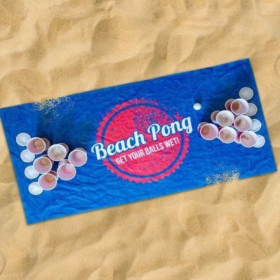 Produits exclusifs - Serviette Beach Pong