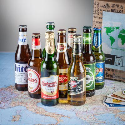 Cadeau homme - Le tour du monde en 9 bières