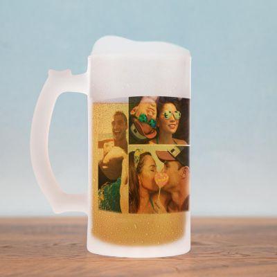 Produits exclusifs - Chope de bière avec 5 Photos