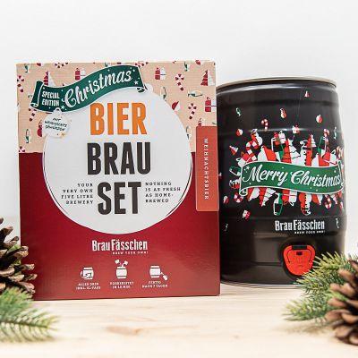 Cadeau de Noël pour homme - Bierbrau Set Edition de Noël