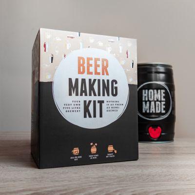 Cadeaux de Noël pour Papa - Set de brassage de bière Pils