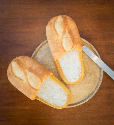Idée cadeau - Chaussons en forme de pain