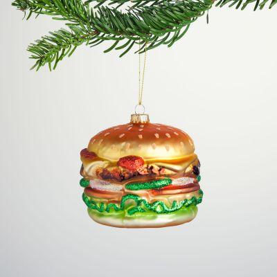 Decoration de Noël - Boule de Noël Maxi Burger