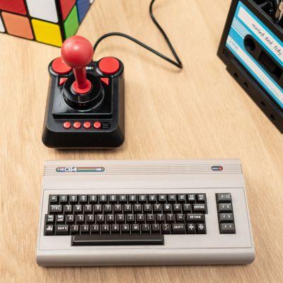 Cadeau de Noël pour homme - Console de Jeu The C64 Mini