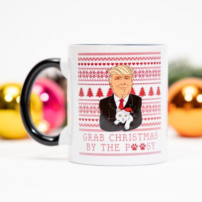 Nouveautés - Tasse Grab Christmas avec Trump