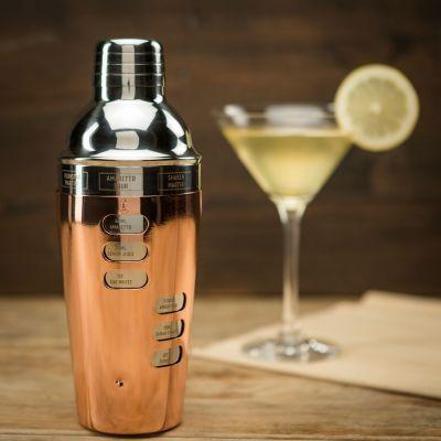 Cadeaux pour la Fête des Pères - Cocktail Shaker Design avec Recettes