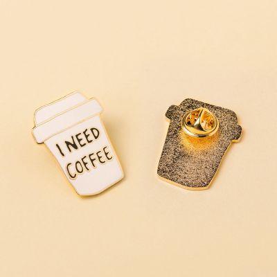 Bijoux - Pin's I Need Coffee