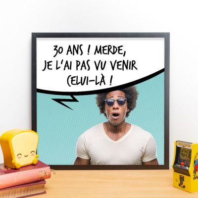 Posters - Affiche personnalisable avec photo et bulle