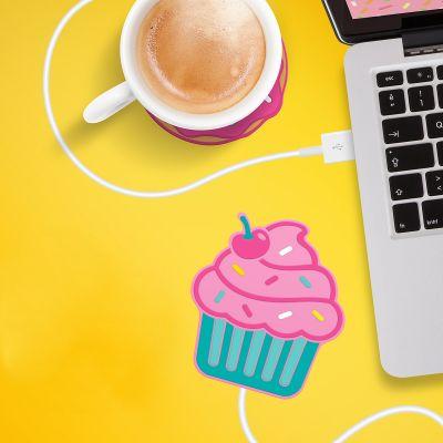 Ordinateur & Gadgets USB - Chauffe-tasse USB Cupcake