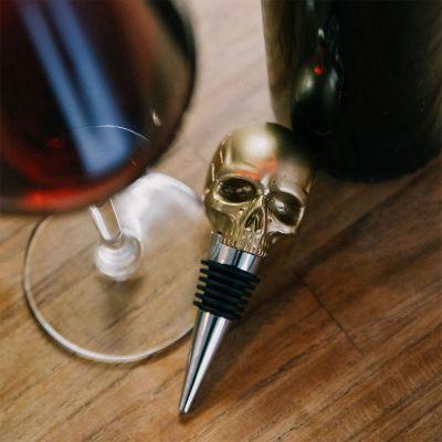 Accessoires de bar - Bouchon de bouteille crâne