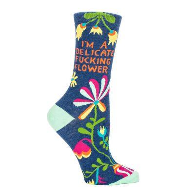 Jeux & Farces - Chaussettes Delicate Fucking Flower