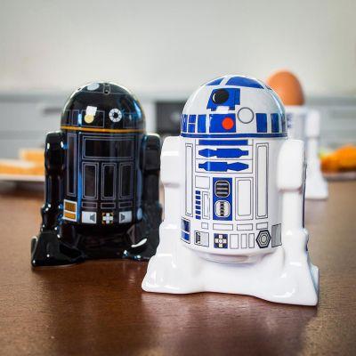 Salière et poivrière Star Wars - R2D2 et R2Q5
