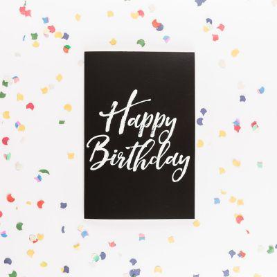 Cadeau anniversaire Femme - Carte d'anniversaire Forever