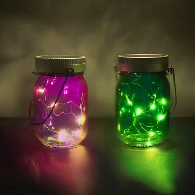Cadeau anniversaire de mariage - Fairy Jars - lot de 2
