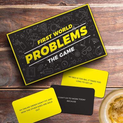 Jeu de Cartes First World Problems