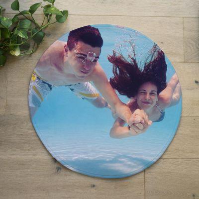 Tapis de bain exclusifs - Tapis de Bain Photo Personnalisable