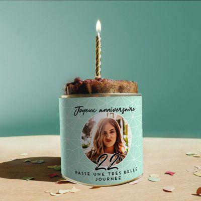 Petites douceurs exclusives - Cancake Personnalisable pour Anniversaire