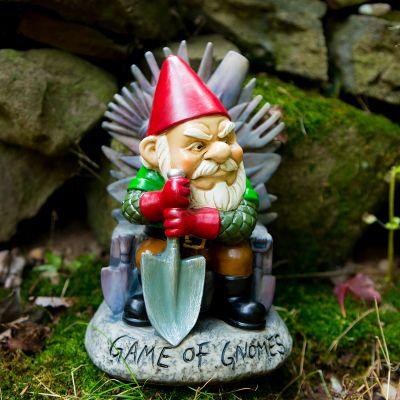 Cadeau de Noël pour homme - Nain de jardin Game of Gnomes