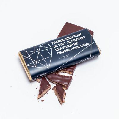 Petites douceurs personnalisées - Chocolat Personnalisable Texte
