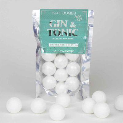 Cadeau anniversaire Femme - Bombes de bain Gin Tonic