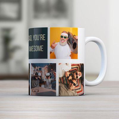 Cadeau Anniversaire Copain - Tasse Photo Personnalisable
